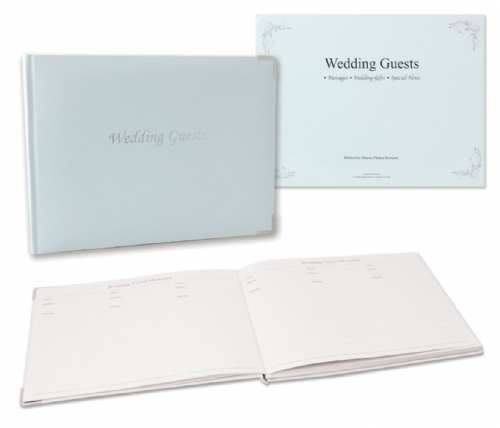 Wedding Guest Book 19.5 x 26.5 cm